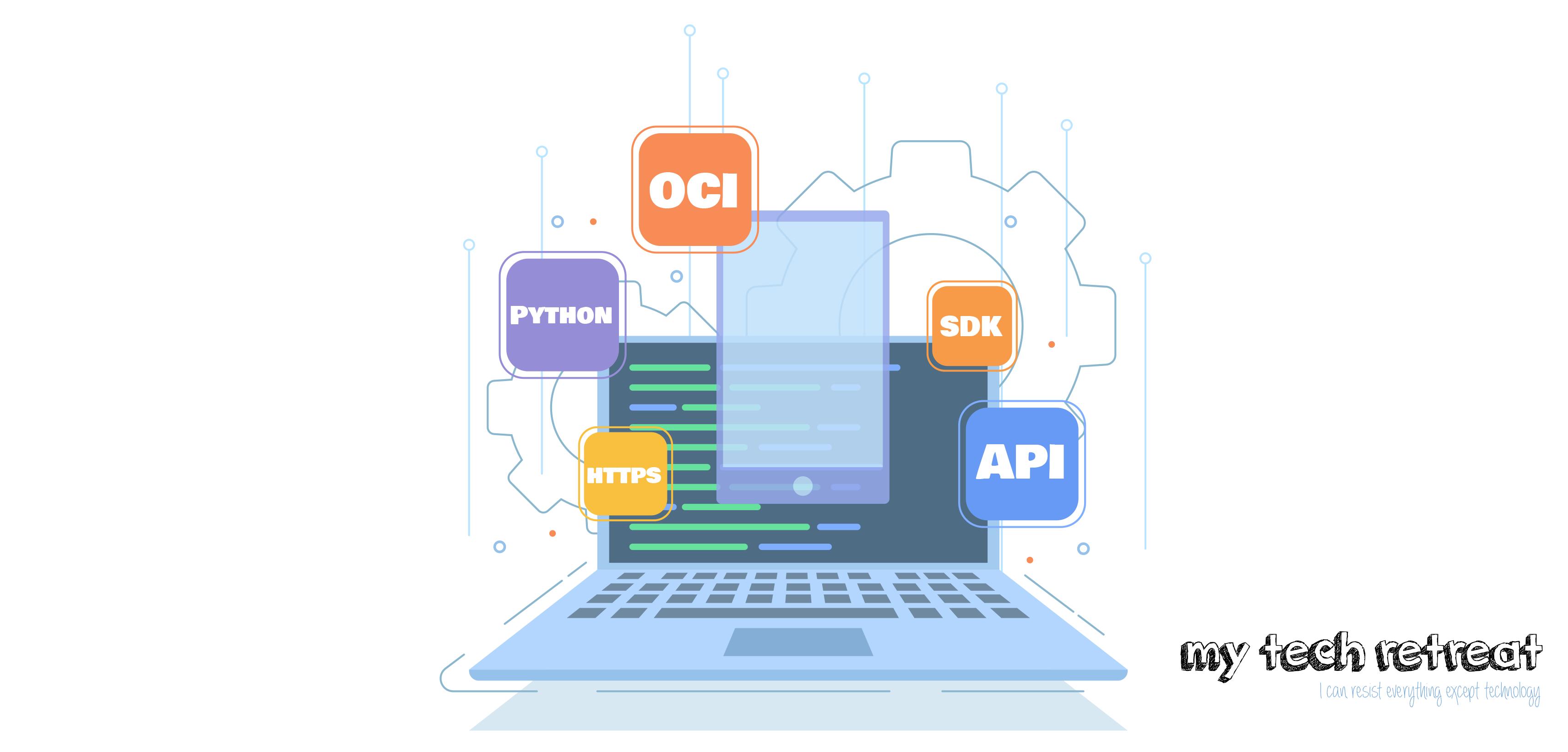 How to use the OCI Python SDK to make API Calls